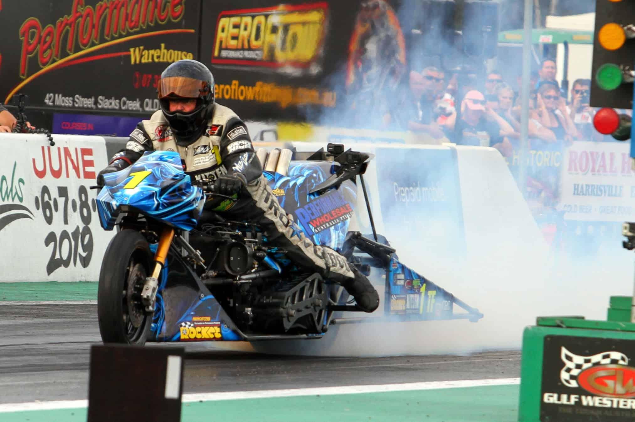 Easter Set to Unleash (UPDATED) Nitro Voodoo Top Fuel Motorcycle